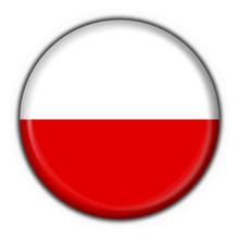 Bottone Bandiera Polaccca - Poland Flag