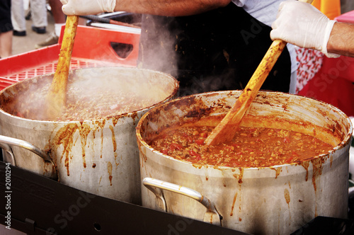 Fotografie, Obraz  chili cook-off 1