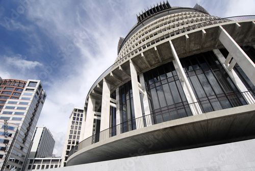 parliament building in wellington, new zealand