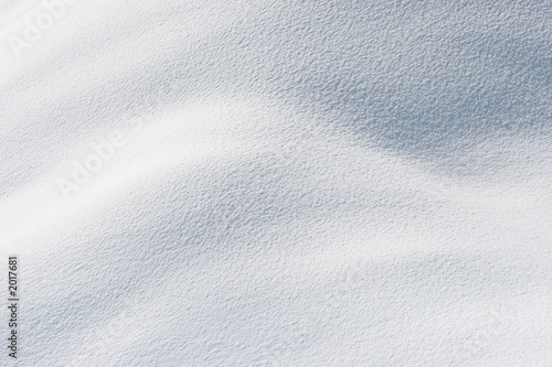 Papiers peints Arctique fresh snow in sunshine