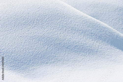 Papiers peints Arctique fresh snow background