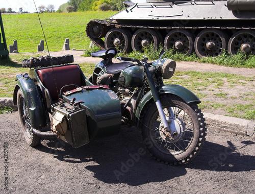 Fototapety, obrazy: bike from ii world war