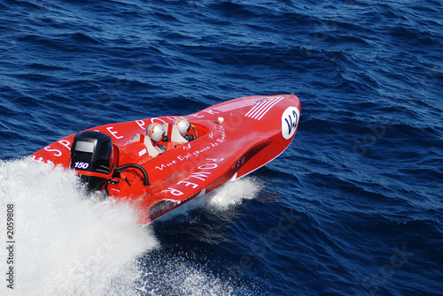 bateau de course