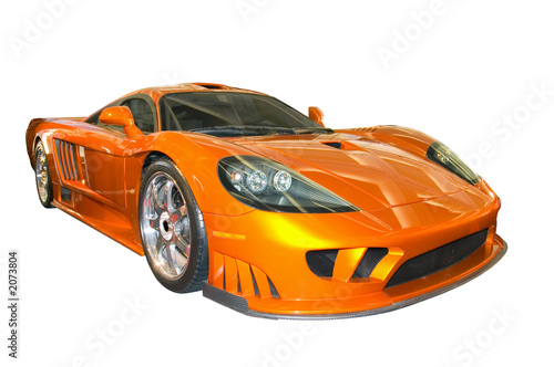 Deurstickers Snelle auto s saleen sports car