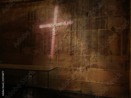 Fotografie, Obraz  dark side holy cross