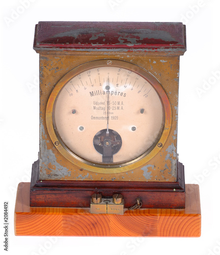 Photo ampere meter