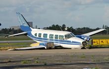 Crash Landed Airplane