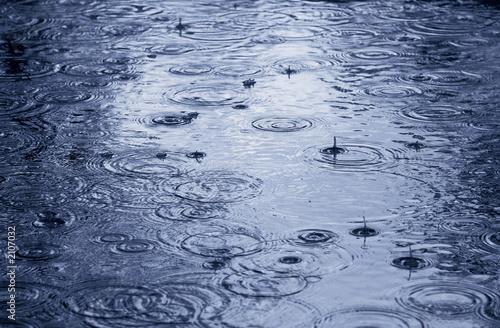 Obraz na płótnie raining
