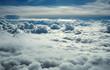 Leinwandbild Motiv over clouds