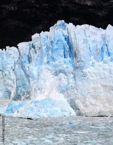Poster Glaciers fonte du glacier