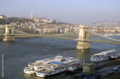 Fotografie, Obraz  panorama di budapest