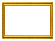 Golden Horizontal Frame