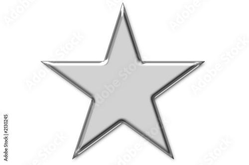 Fotografía piktogramm: silberner stern
