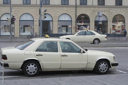 Türaufkleber Autos aus Kuba era of taxi