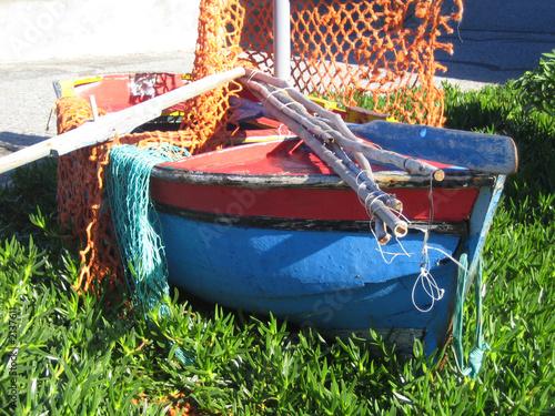 Foto op Aluminium Picknick fischerboot