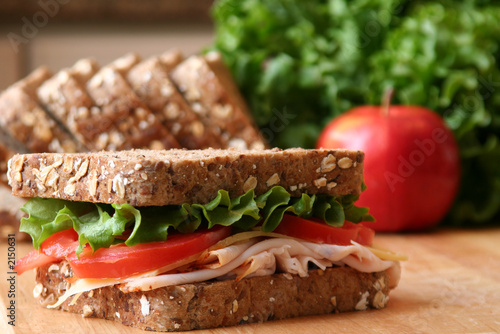 Staande foto Snack lunch