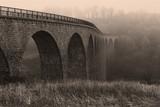 sepia aqueduct in the winter - 2157660