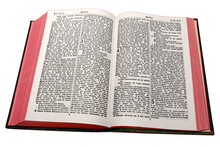 The Gospel Of Matthew, From A Bible In The Hausa L