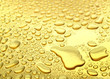 canvas print picture - gold