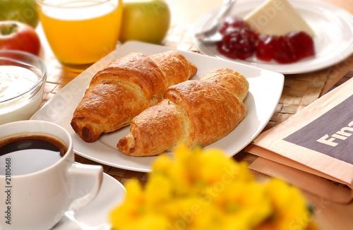 Fotografie, Obraz  french breakfast