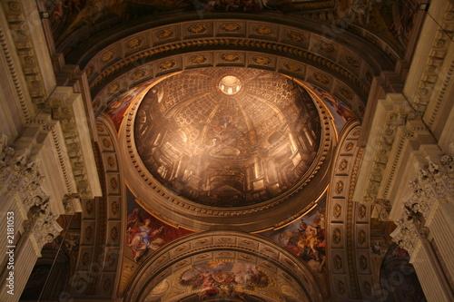 Fotografia, Obraz cupola di s. ignazio di loyola - roma