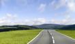 Leinwandbild Motiv the road ahead