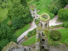 Blarney Castle Towers From Abo...