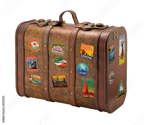 Fotografie, Obraz old suitcase