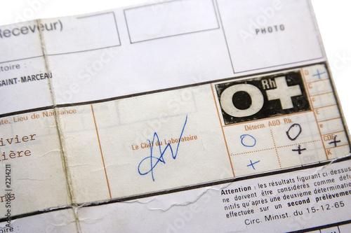 Carte Groupe Sanguin Acheter Cette Photo Libre De Droit Et Decouvrir Des Images Similaires Sur Adobe Stock Adobe Stock