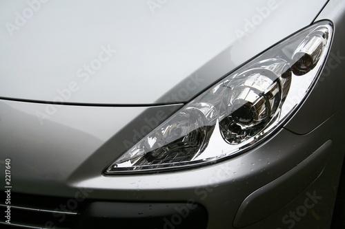 Fototapeta phare de voiture obraz na płótnie