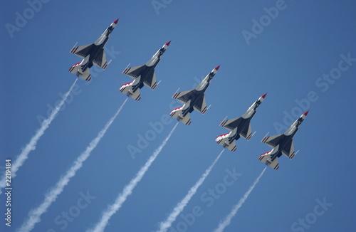 Fotografia, Obraz air force thunderbirds