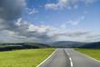Leinwandbild Motiv stormy road