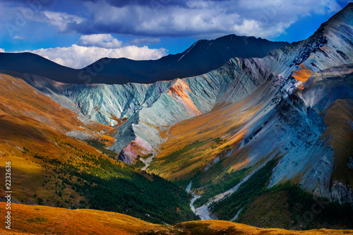 Photo altai blue mountain