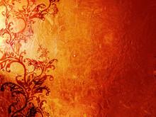 Red Rusty Grunge Background