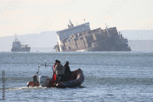 Photo sur Aluminium Naufrage shipwreck