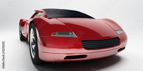Deurstickers Snelle auto s speedcar 5