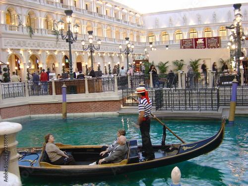 Fotobehang Gondolas gondola at venetian, las vegas