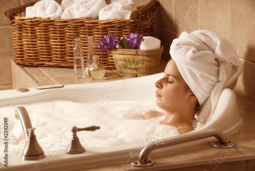 bath time Fototapet