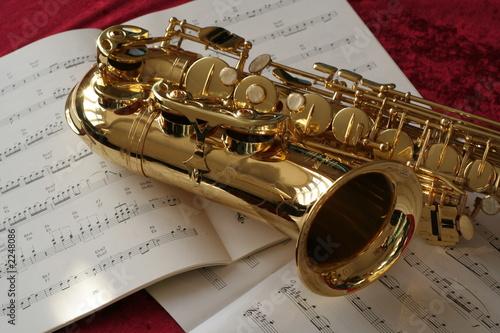 Vászonkép saxophone music