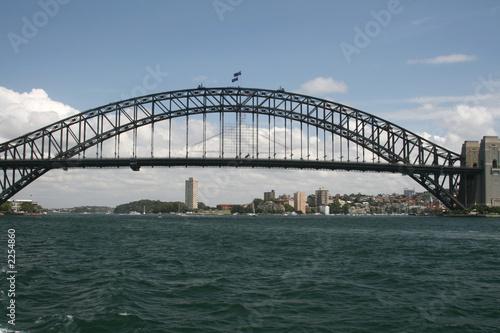 Deurstickers Australië sydney overwater bridge