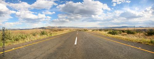 Photo la route maloti en afrique du sud