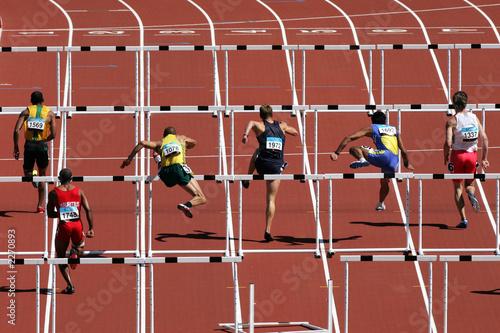 Fotografie, Obraz  hurdles 001