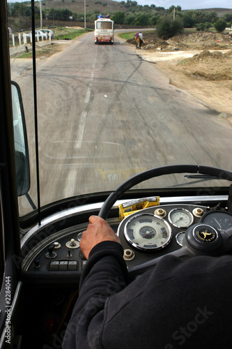 Fotomural sur la route