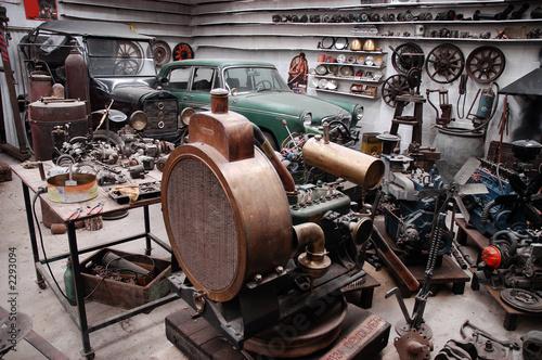 Fotografie, Obraz  industria taller