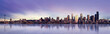 canvas print picture seattle panorama