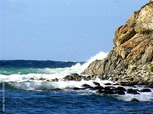 Foto-Leinwand - orizzonte marino