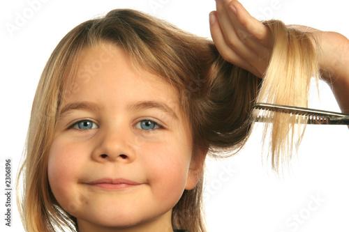 Fotografie, Obraz coupe de cheveux