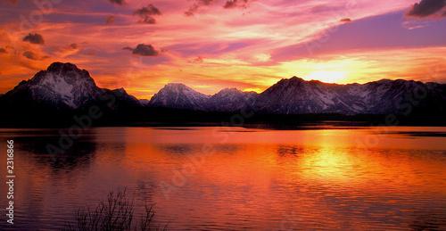 Fotografia grand teton national park