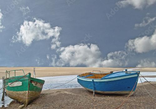 Photo barques de pêcheurs