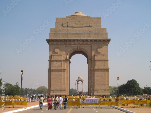 Tuinposter Delhi the india gate (new delhi, india)